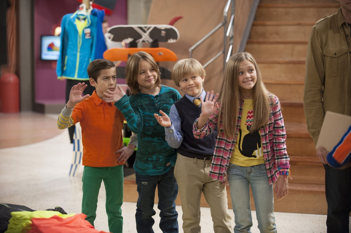 Still of Nickelodeon show Nicky, Ricky, Dicky and Dawn