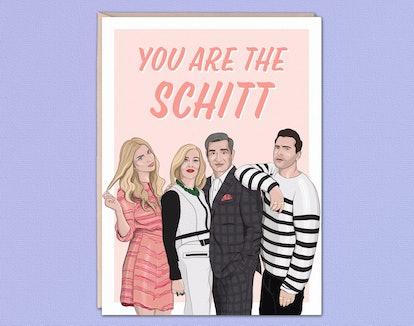 Schitt's Creek Greeting Card
