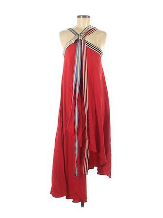 Grosgrain Tie Dress