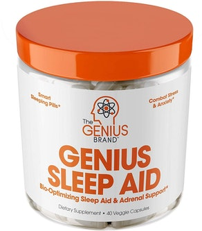 Genius Sleep AID  Supplements Capsules (40 Count)