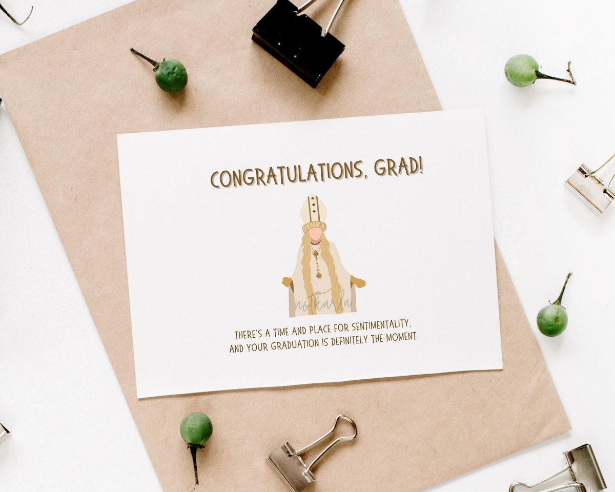 Moira Rose Pope Funny Graduation Card