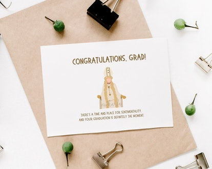Moira Rose Pope Funny Graduation Card
