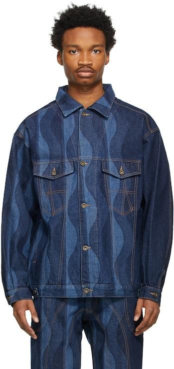 Ahluwalia Indigo Denim Joy Jacket