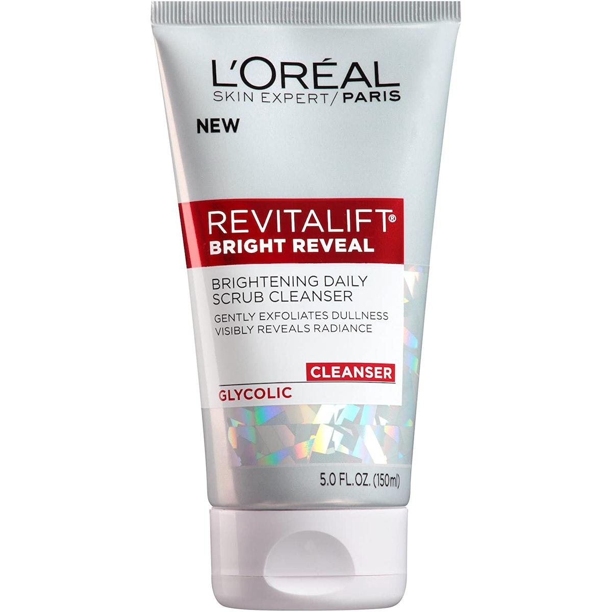 L'Oreal Paris Revitalift Bright Reveal Brightening Daily Scrub Cleanser