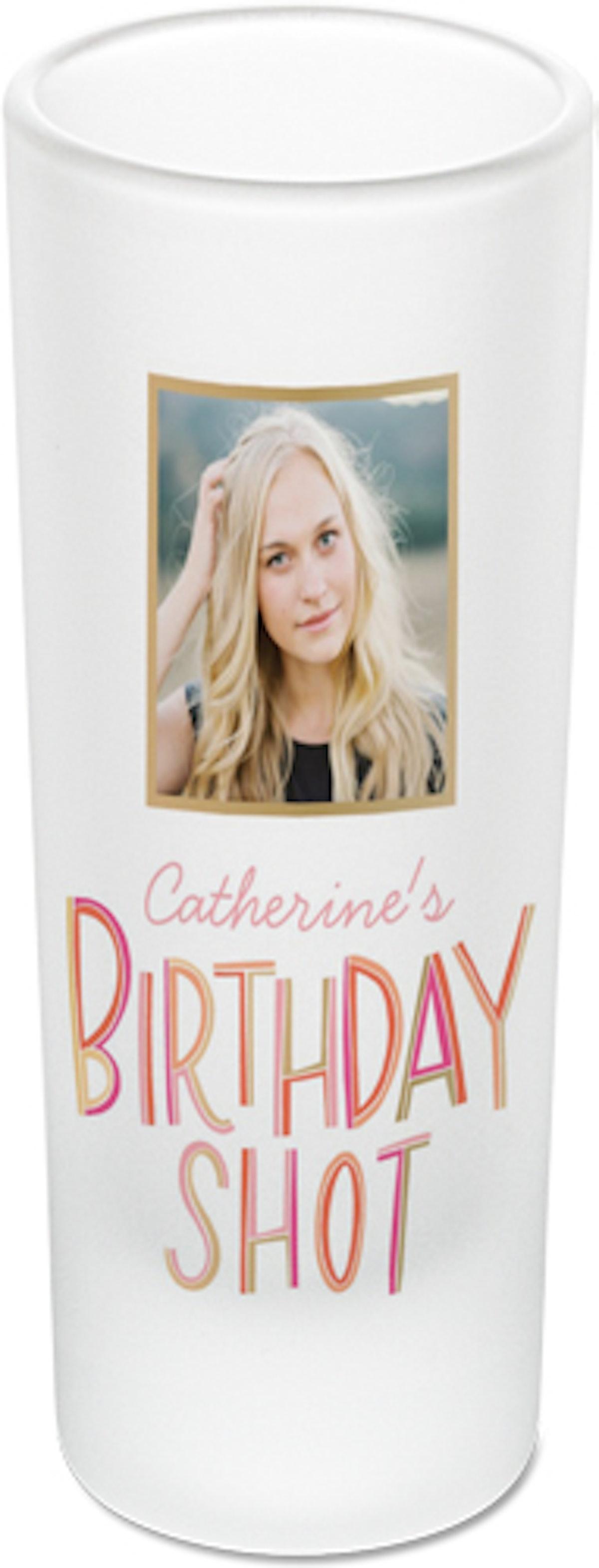 Shutterfly Birthday Celebration Shot Glass