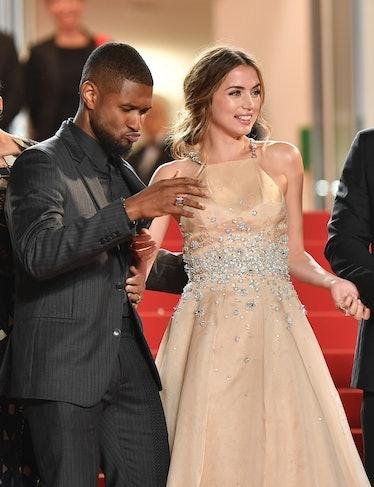 Usher and Ana de Armas