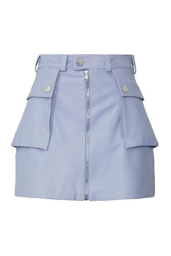 Kai Faux Leather Skirt