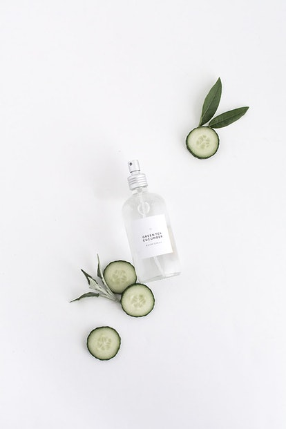 Try making your own DIY room spray from Homey Oh My.