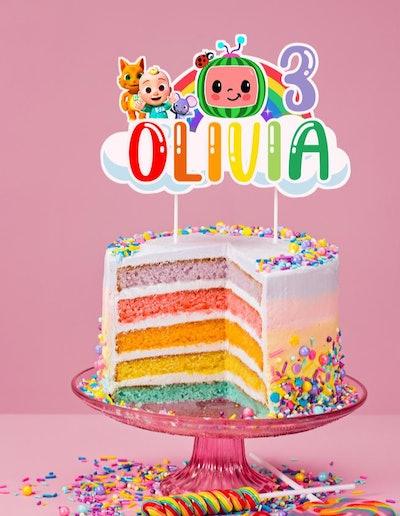 CoCoMelon Cake Topper