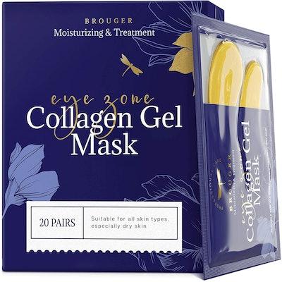 Brougher Under-Eye Collagen Masks (20 Count)