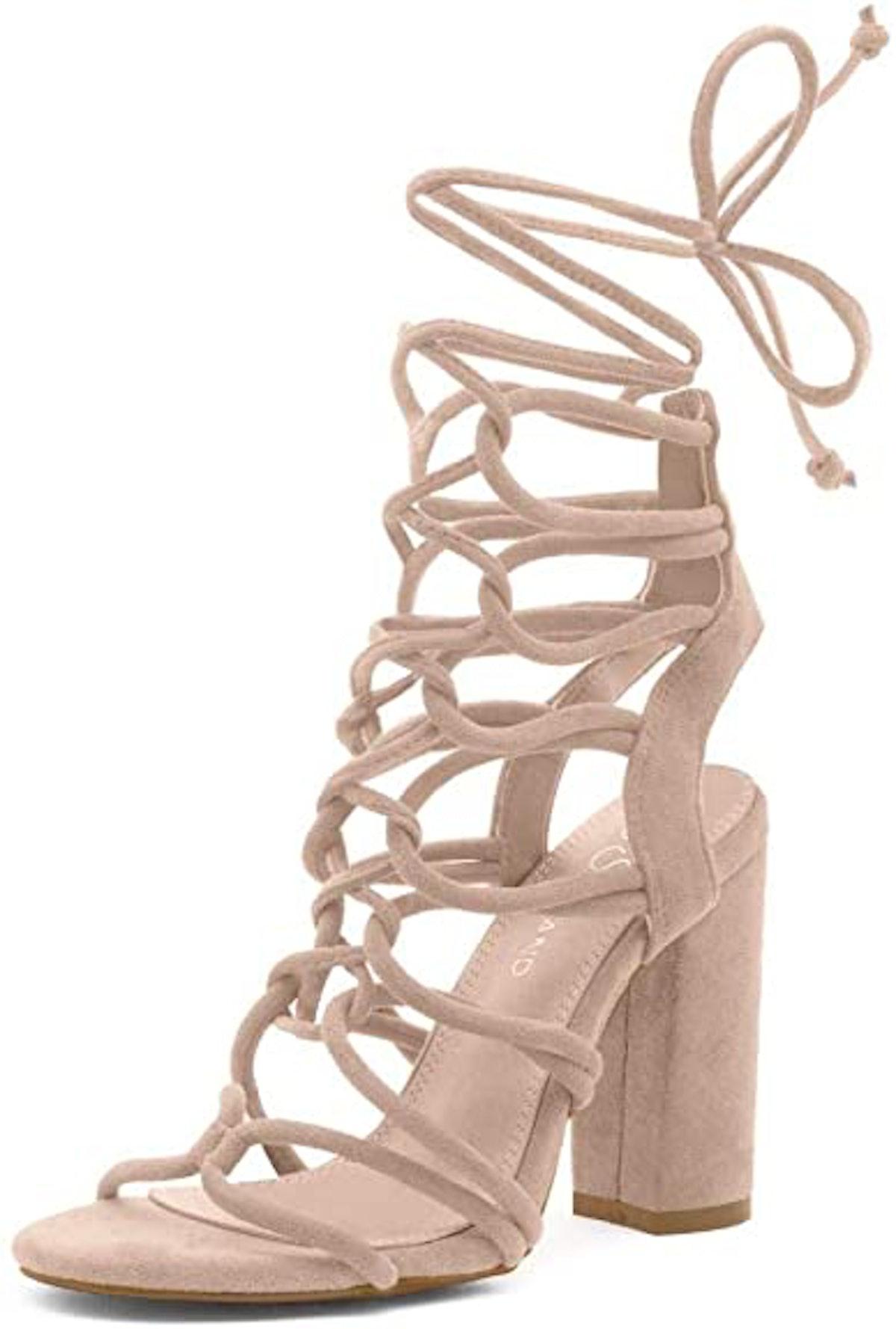 Shoe Land Kyler Heeled Sandals