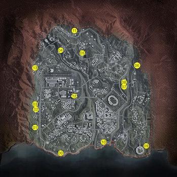 Call of Duty Warzone Season 3 Bunker Map