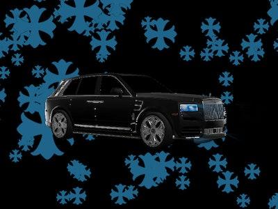 Chrome Hearts custom Drake Rolls-Royce digital tour