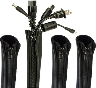 Blue Key World Cable Sleeves (4-Pack)