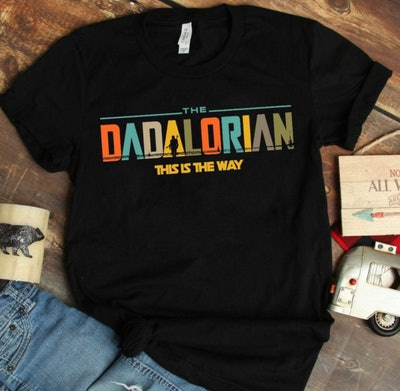 Dadalorian Shirt - Star Wars Pregnancy Announcement Shirt