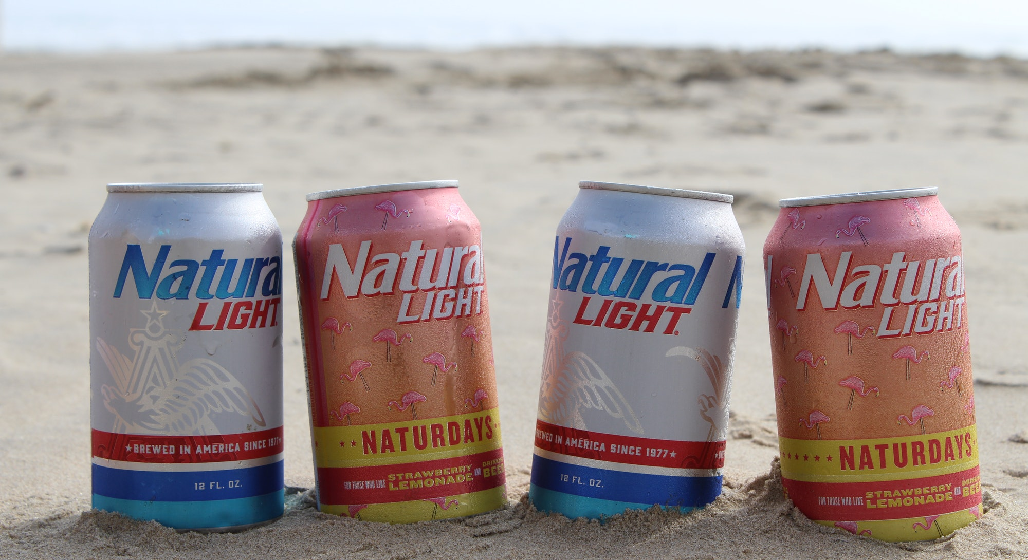 Natty Light introduced Naturdays beer line in 2019.
