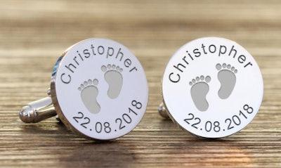 YourCreativeGiftShop Personalized Engraved Cufflinks