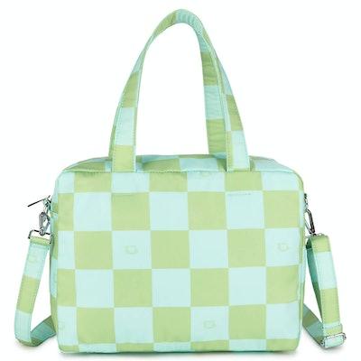 Mary Check Print Shoulder Bag