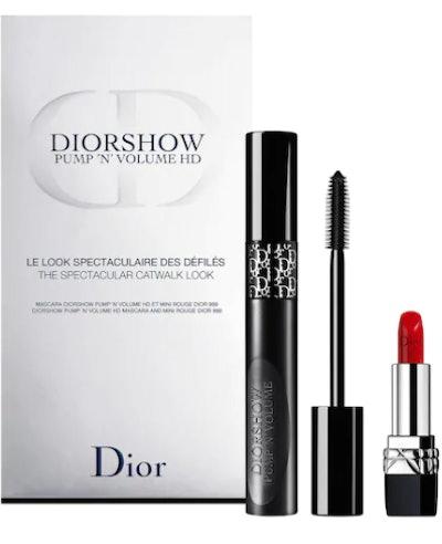Diorshow Pump 'N' Volume Mascara and Lipstick Set