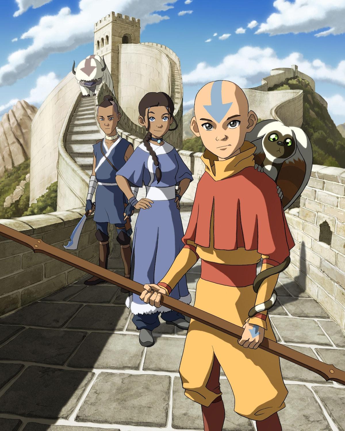 Photo Still Of Nickelodeon Series Avatar The Last Air Bender
