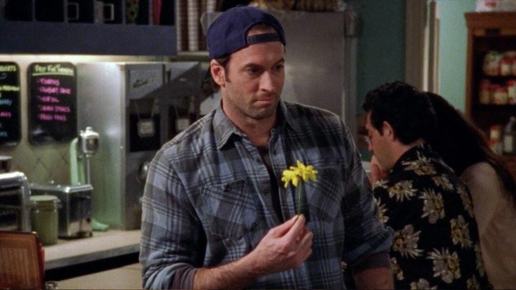 Scott Patterson as Luke Danes in Gilmore Girls.