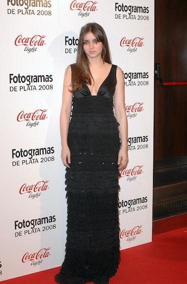 Ana de Armas arrives at Fotogramas Magazine Cinema Awards, at Joy Eslava Club on March 2, 2009 in Ma...