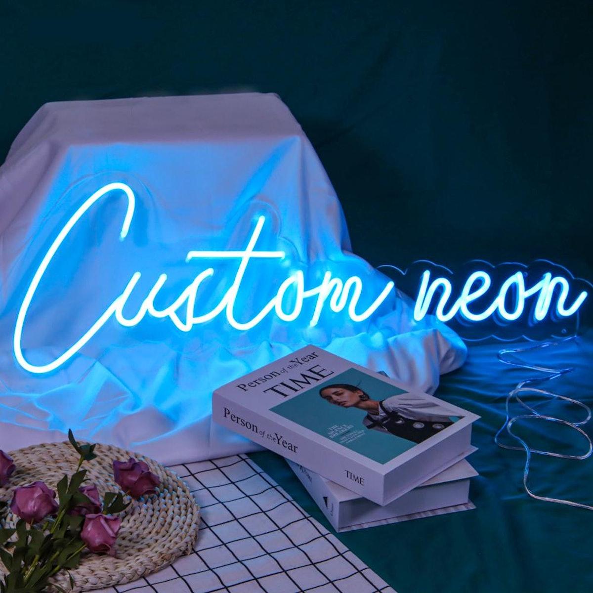 Lucky Neon Custom Neon Sign