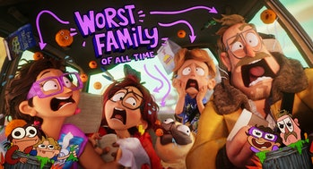The Mitchells vs. the Machines pushes Sony Animation to new limits.