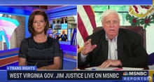 West Virginia Governor Jim Justice and NBC Reporter Stephanie Ruhle debate anti-transgender legislat...