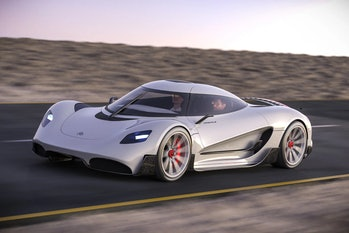Viritech's Apricale is a hydrogen hypercar that will serve to demonstrate the benefits of hydrogen.