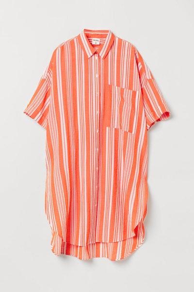 Long Lyocell-Blend Shirt