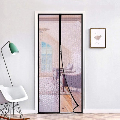 """RELIANCER Magnetic Thermal Insulated Door Curtain, 38""""x82"""""""