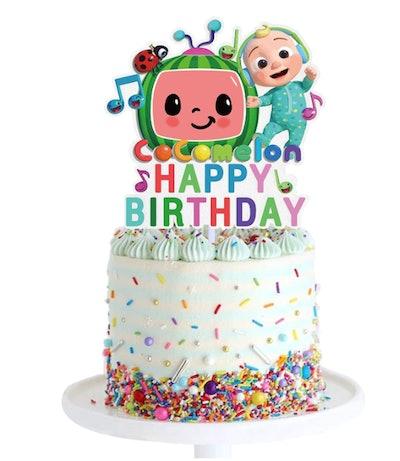 CoComelon Birthday Cake Topper