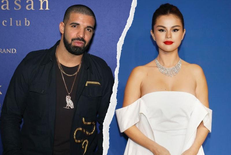 Drake & Selena Gomez. Photos via Kurt Krieger - Corbis/Corbis Entertainment/Getty Images & Gabe Ginsberg/Getty Images Entertainment/Getty Images