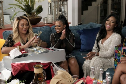 Cynthia Bailey, Kandi Burress, and Kenya Moore on 'RHOA' Season 13
