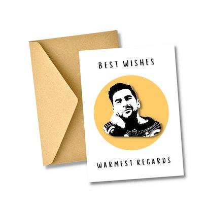 Schitt's Creek Card, Warmest Regards Best Wishes