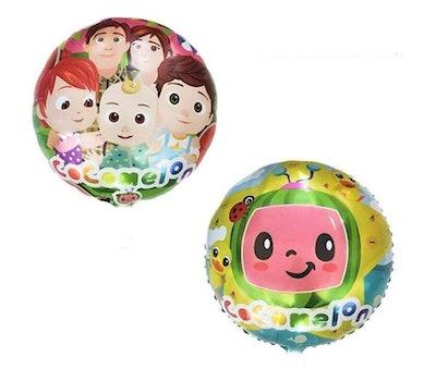 """18"""" Round Cocomelon Foil Balloon"""