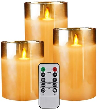 Yinuo Flameless LED Candles (3-Pack)