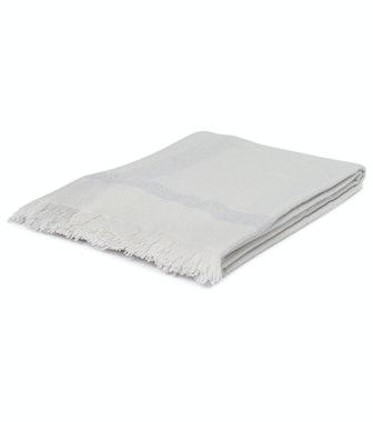 Fringed Cashmere Blanket