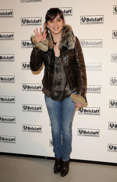 Ana de Armas attends Belstaff Store opening on December 15, 2008 in Madrid, Spain.