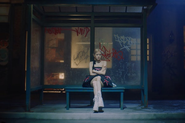 "Rosé from BLACKPINK released the music video for her debut solo single ""Gone."""