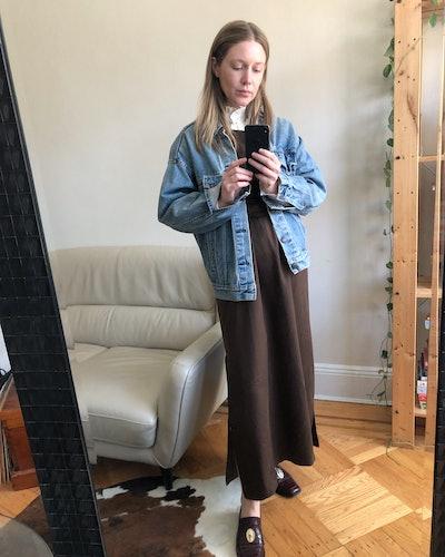 Nicole Kliest wearing Shaina Mote dress