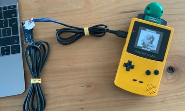 A DIY Arduino solution for downloading images from the Game Boy Camera to a computer.