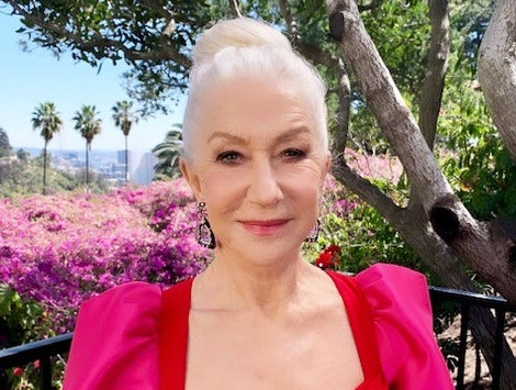 Helen Mirren at the 2021 SAG Awards.