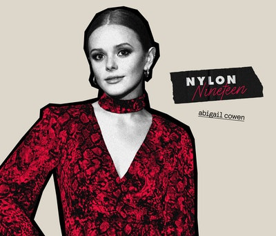 Abigail Cowen does the NYLON-19 questionnaire.