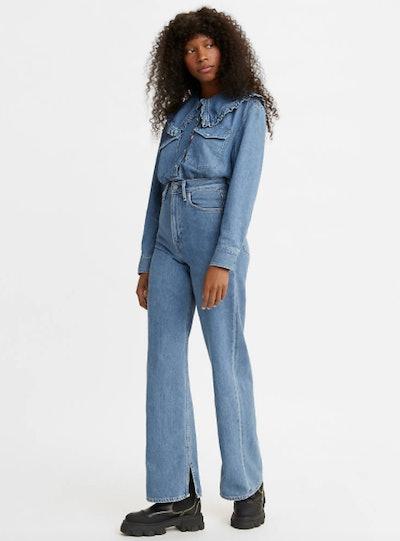 Ganni X Levi's Slit High Loose Women's Jeans