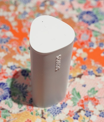The Sonos Roam has a Sound Swap feature that sends your music to the nearest Sonos speaker.