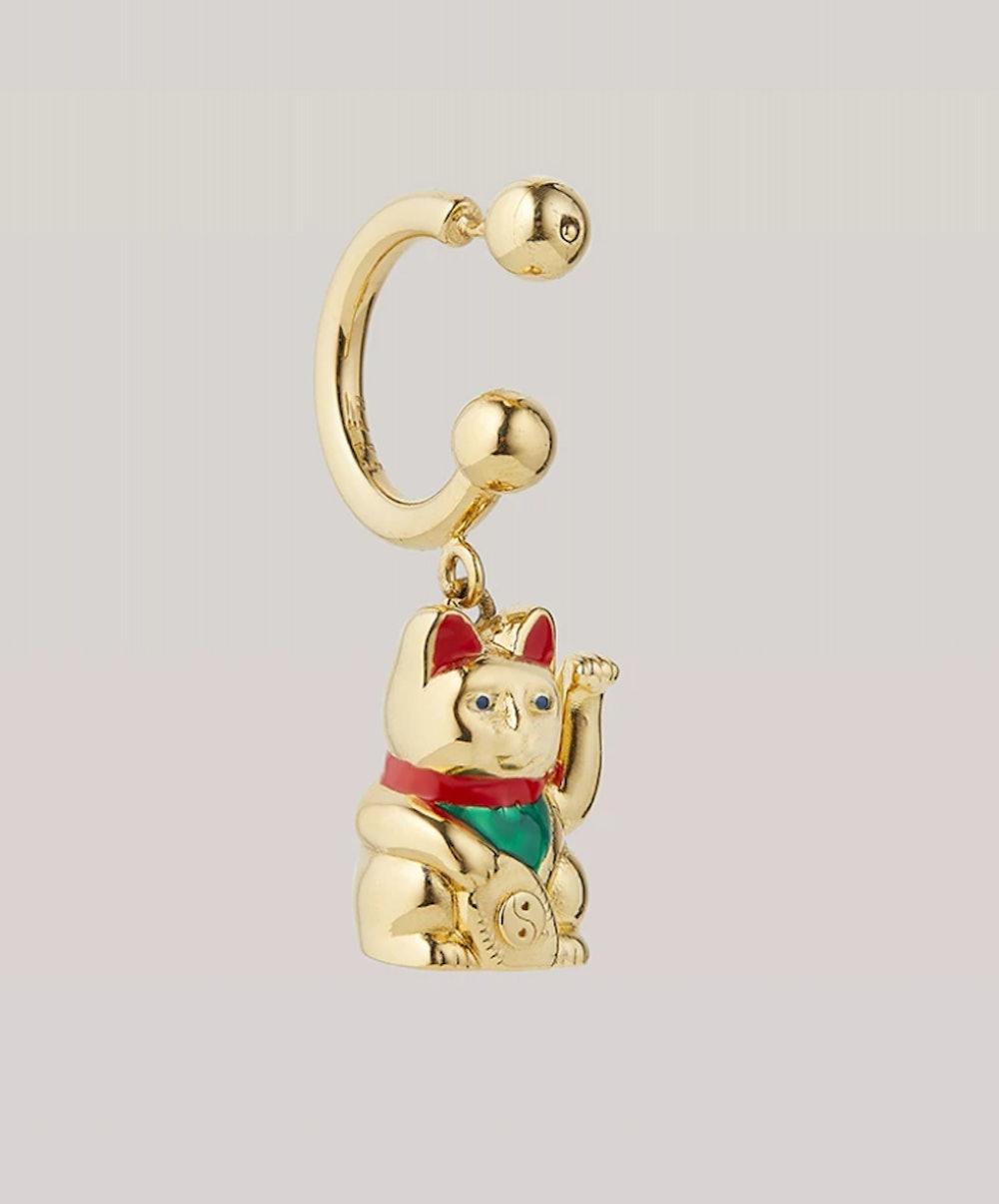 Maneki Neko Earring