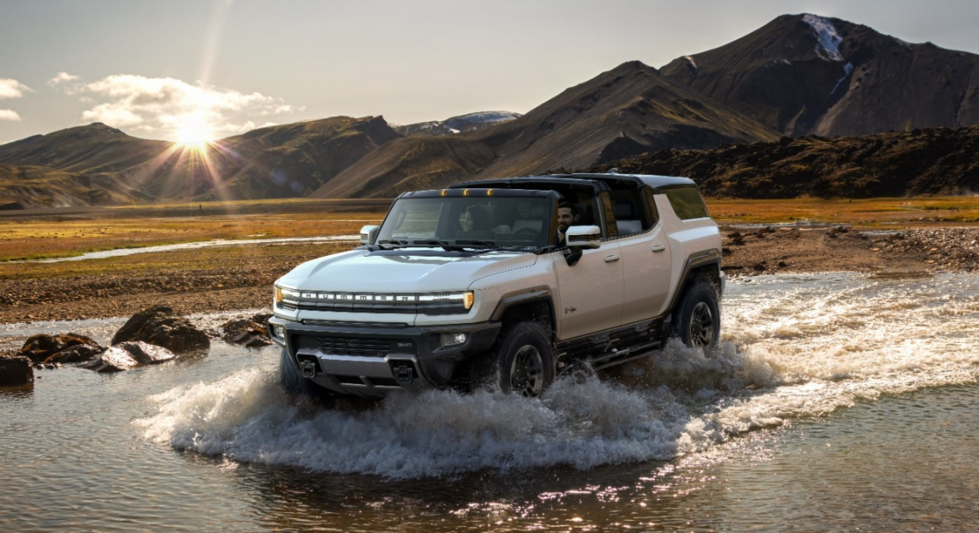 Hummer's electric SUV. Electric vehicles. GMC. EV. Electric cars.