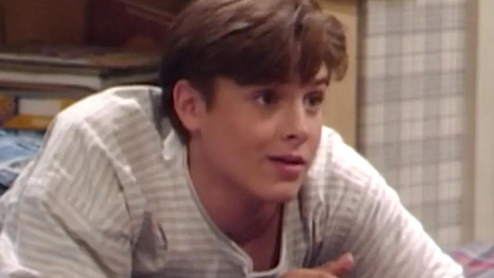 """Will Friedle as Eric Matthews on """"Boy Meets World."""""""